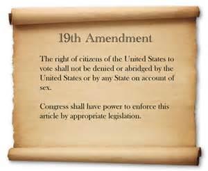 essays 19th amendment