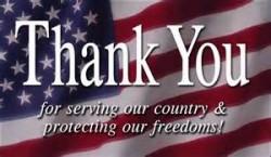 veteran thank you